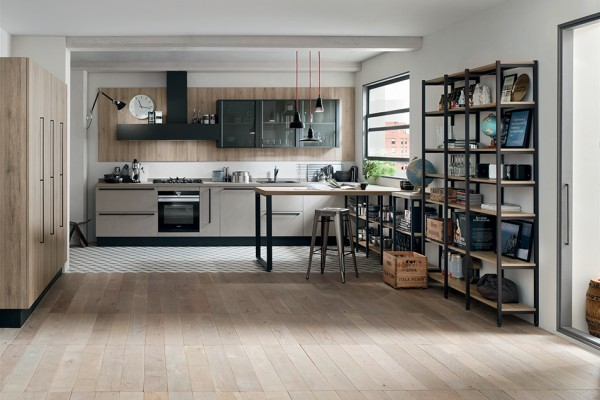 Start with a great advantage. START-TIME: start off on the right foot by giving your kitchen the youthful feel of a design with pure lines dressed in cool colors and wood finishes that are in step to